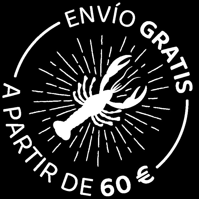 Envío gratis 60€ Mariscos Laureano